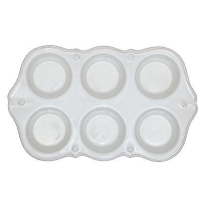 Juliska  Whitewash Muffin pan $58.00