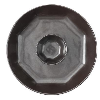 Juliska  Pewter Stoneware Chip \'n Dip $108.00