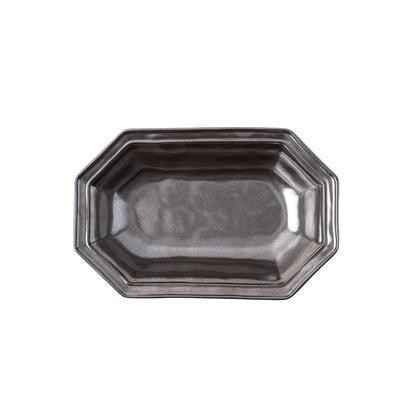 "Juliska  Pewter Stoneware Serving Bowl (10"") ~ Octagonal  $58.00"