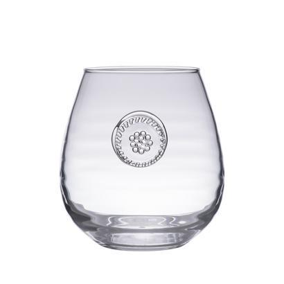 Juliska  Berry & Thread  Stemless Red Wine $28.00