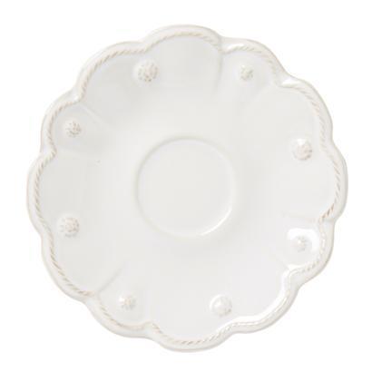 Juliska Jardins du Monde Whitewash Saucer $20.00