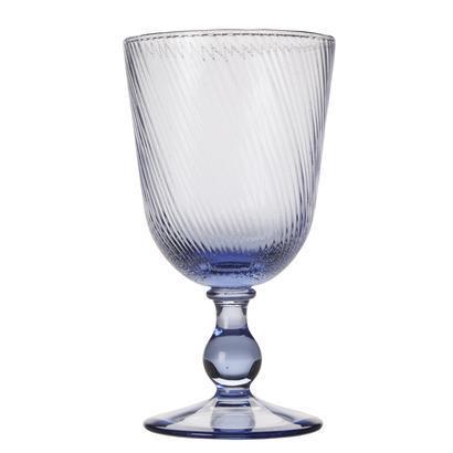 Juliska  Delft Blue Footed Goblet $39.00