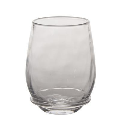 $25.00 Stemless White Wine Glass