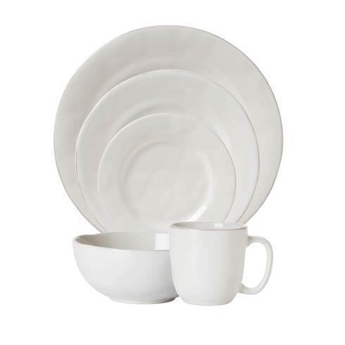 Juliska Puro Whitewash 5pc Setting (KS01/10, KS02/10, KS03/10, KS07/10, KS46/10) $121.00