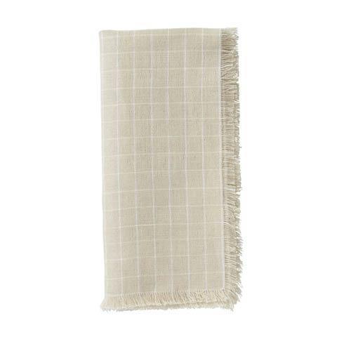 $15.00 Windowpane Flax Napkin