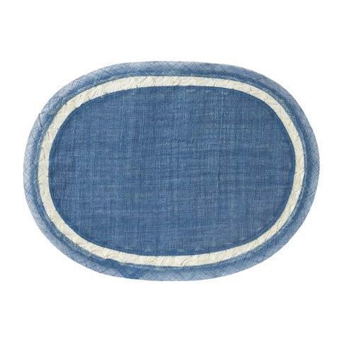 Juliska  Placemats Mademoiselle Delft Blue Placemat $20.00