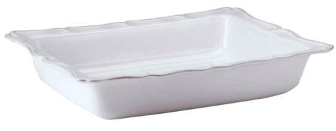 "Juliska Berry & Thread Whitewash 17.5"" Rectangular Baker $145.00"