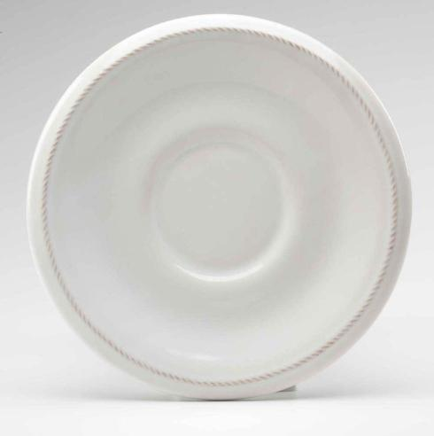 Juliska  Whitewash Breakfast Saucer (Round) $20.00