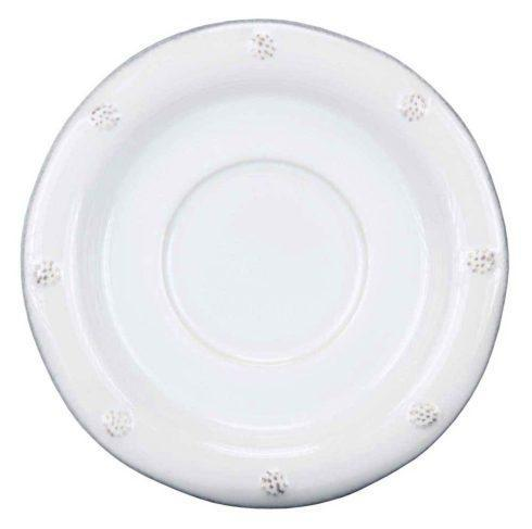 Saucer (Round ) - Whitewash <br>(4 in stock)