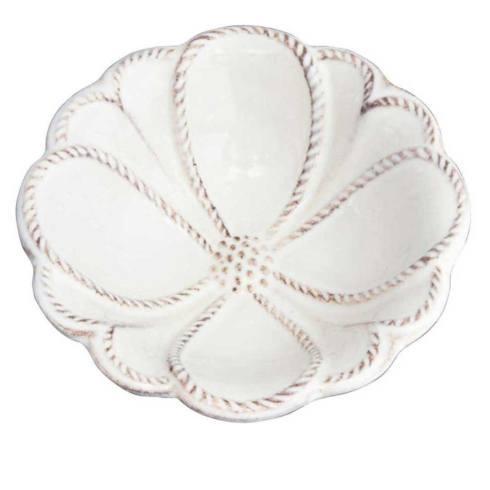 "Juliska Jardins du Monde Whitewash 4"" Blossom Bowl $20.00"