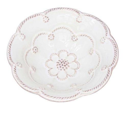 "Juliska Jardins du Monde Whitewash 5"" Blossom Bowl $24.00"