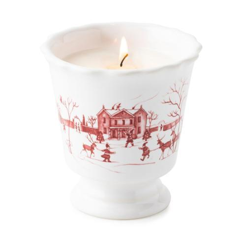 $78.00 Country Estate Winter Frolic Ruby Scented Candle