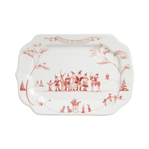 Juliska Country Estate Ruby Gift Tray Love & Joy $39.00