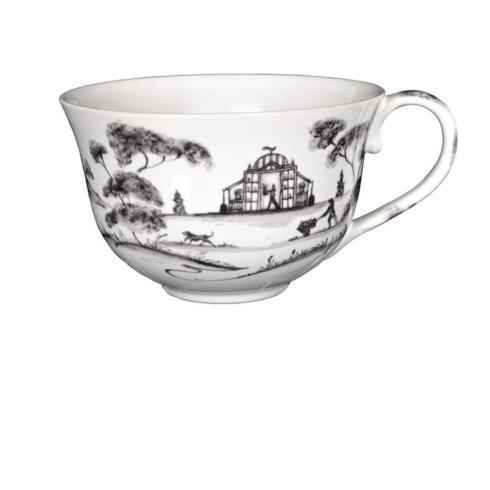 Juliska Country Estate Flint (Brown) Tea/Coffee Cup Garden Follies $38.00