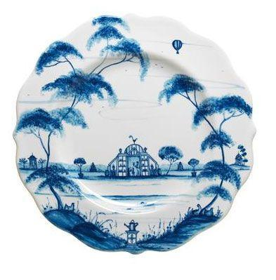 Juliska Country Estate Delft Blue Dessert/Salad Plate Conservatory $48.00