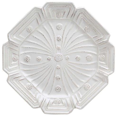Juliska Jardins du Monde Whitewash Heligan Dessert/Salad Plate $44.00