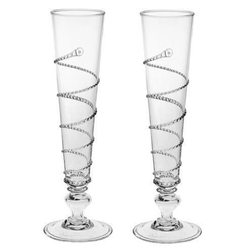 Juliska  Amalia Pair of Flutes $165.00
