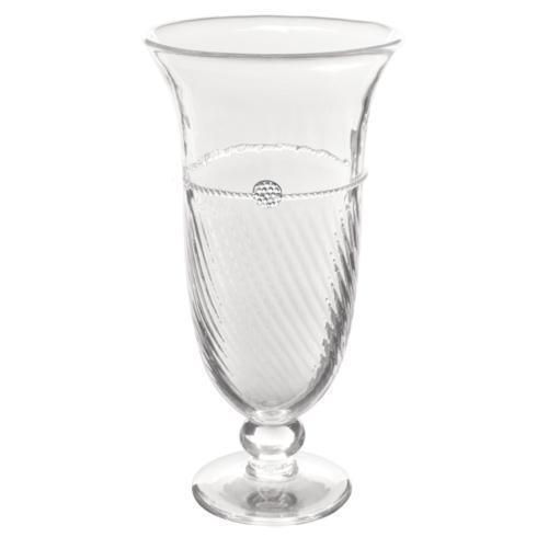 Footed Trumpet Vase