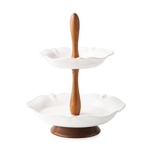 Juliska Berry & Thread Serveware Tiered Serving Stand $198.00