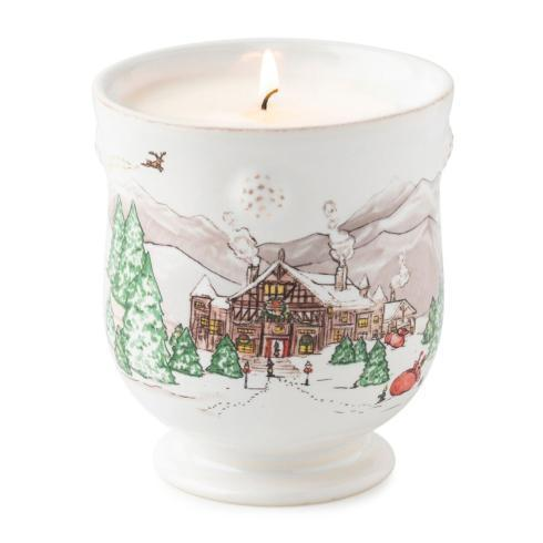 Juliska  Holiday Table Accessories Berry & Thread North Pole Scented Candle $78.00