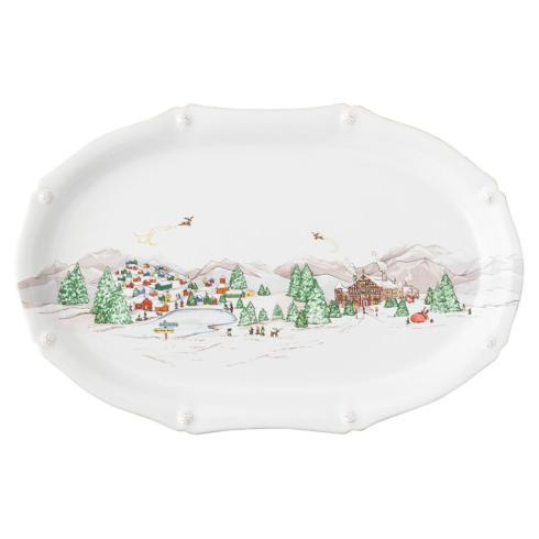 "Juliska  Berry & Thread North Pole 17"" Platter $148.00"