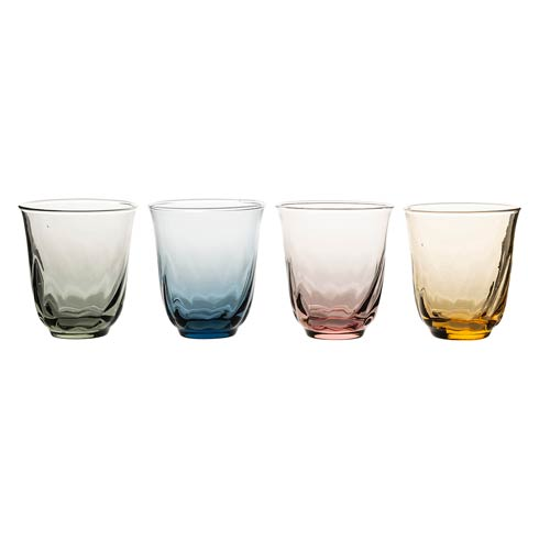 Small Tumbler Set/4 Assorted Colors