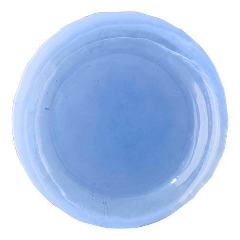 $38.00 Dessert/Salad Plate Blue