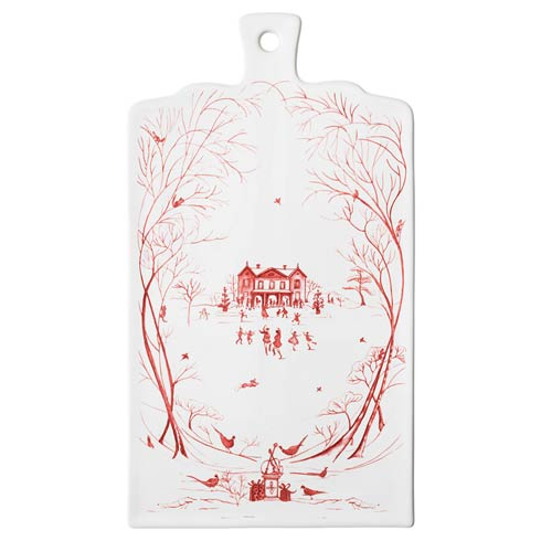 Juliska Country Estate Ruby Winter Frolic Serving Board $95.00