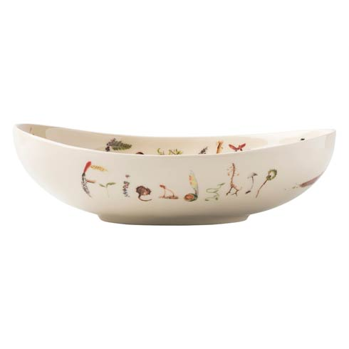 """$75.00 Oval 9"""" """"Friendship and Family"""" Bowl"""