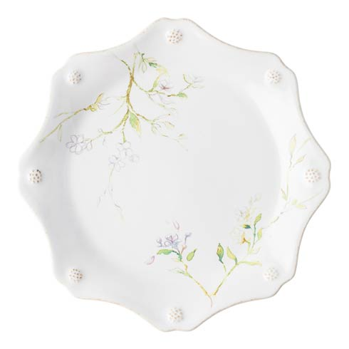 Juliska Berry & Thread Floral Sketch Jasmine Dessert/Salad Plate $40.00