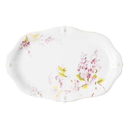 "$95.00 16"" Wisteria Platter"