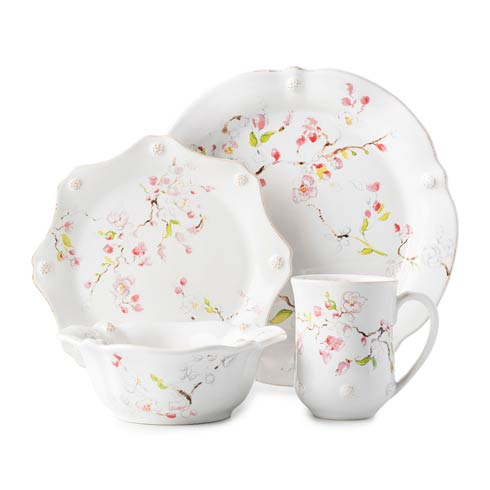 $150.00 Cherry Blossom 4 pc Place Setting
