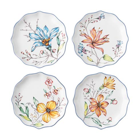 Juliska  Floretta Tidbit Set/4 $95.00