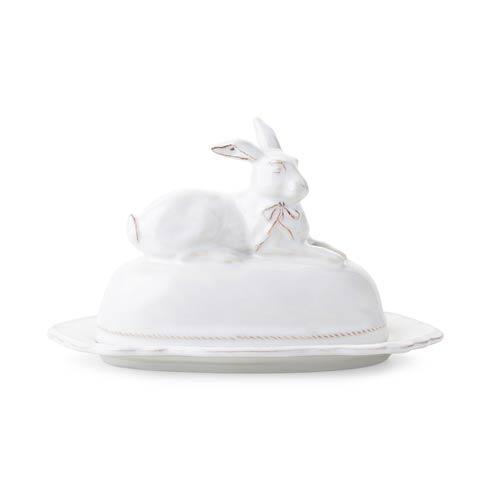 Juliska Berry & Thread Clever Creatures Bridget  - Bunny Butter Dish $95.00