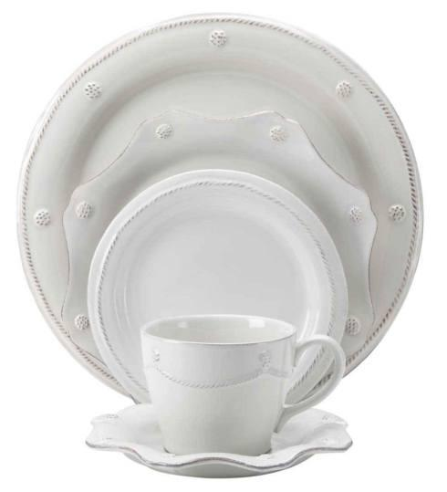 Juliska Berry & Thread Whitewash 5pc Setting (JDR/W, JDSS/W, JBBR/W, JT/W, JSS/W) $146.00