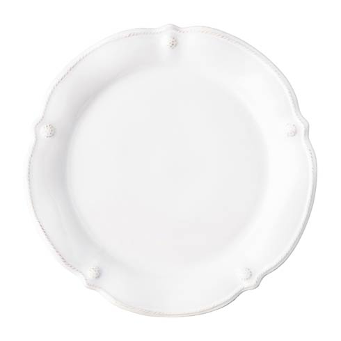 Juliska Berry & Thread Flared Berry & Thread Whitewash Dinner Plate $42.00