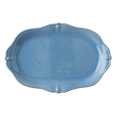 "Juliska Berry & Thread Chambray 15"" Platter $95.00"
