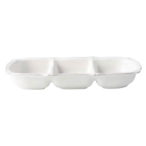 Juliska Berry & Thread Whitewash Triple Section Server $88.00
