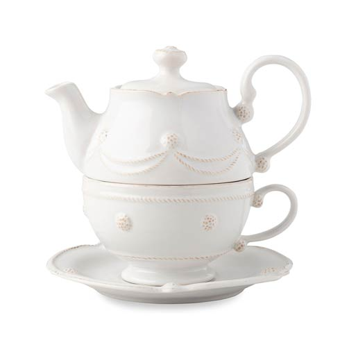 $125.00 Whitewash Tea for One Includes Saucer