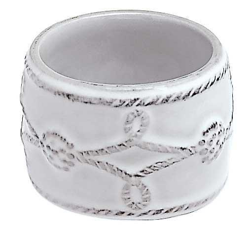 Juliska Berry & Thread Whitewash Napkin Ring $15.00