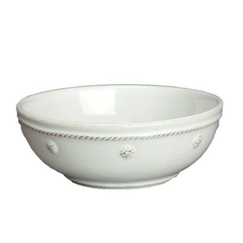 "Juliska Berry & Thread Whitewash 6"" Coupe Bowl $30.00"