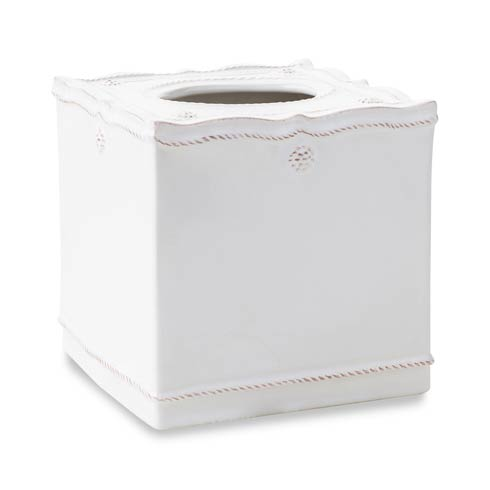 $58.00 Whitewash Tissue Box Cover
