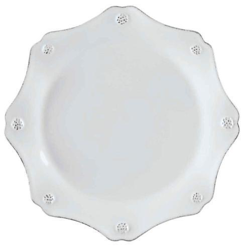 Juliska Berry & Thread Whitewash Scallop Dessert/Salad Plate $40.00