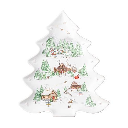 Juliska  Berry & Thread North Pole Tree Platter $150.00