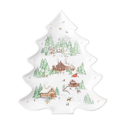 Juliska  Berry & Thread North Pole Tree Platter $150.00