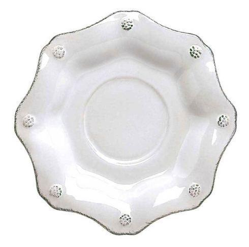 Juliska Berry & Thread Whitewash Scallop Saucer $20.00
