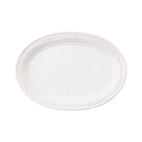 """Juliska Le Panier Whitewash 17"""" Platter $88.00"""