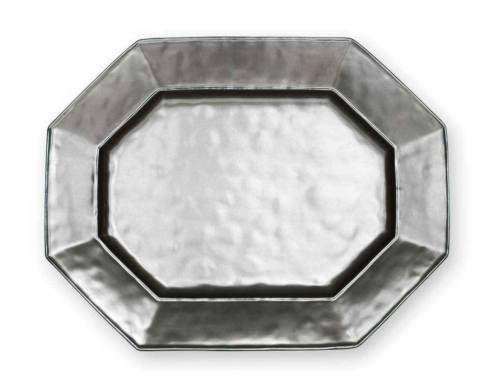 "Juliska  Pewter Stoneware 15"" Octagonal Platter $118.00"