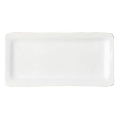 Juliska Puro Whitewash Rectangular Appetizer Platter $45.00