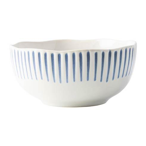 Juliska  Sitio Stripe Cereal/Ice Cream Bowl Indigo $34.00